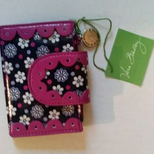 Vera Bradley Boysenberry Quickstep ID holder